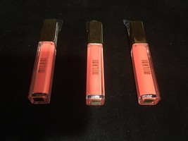 Milani Brilliant Shine Lip Gloss - CORAL CRUSH #10    3 Pack FREE SHIPPING - $44.55