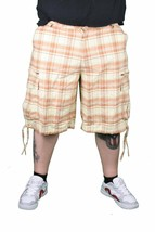 Five Four Eman Brown Kariert Shorts