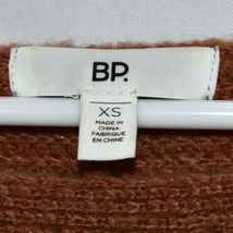 BP. Nordstrom Women's Oversized Flared Long Sleeve Brown Knit Sweater Size XS image 4