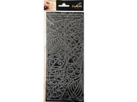 Elizabeth Crafts Design Peel-Offs Outline Stickers, Leaves #0437