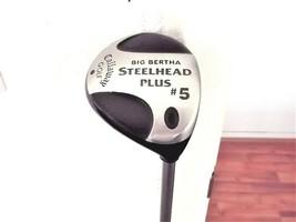 Callaway Big Bertha Steelhead Plus RH 5 Wood. Light Flex Graphite W/Head Cover - $49.45