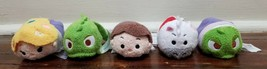 Disney Parks Mini Tsum Tsum Rapunzel Plush Set - $20.31