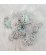 "10"" Garanimals Gray Elephant Plush Stuffed Mint Green 27829 Lovey Toy B65 - $19.99"