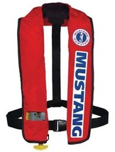 MUSTANG SURVIVAL Deluxe Inflatable PFD- MD3087 - Red - Automatic Activation - $158.39