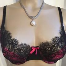 Elle Macpherson black & Pink Pavillion contour bra NEW 36C - $39.95