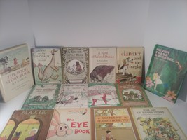 Lot Of 21 Classic Vintage Childrens Book 1950-1970 VERY GOOD CONDITION - $29.39