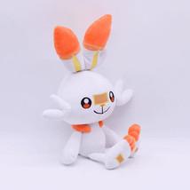 Large Scorbunny Pokemon Plush Toy Video Game Plush Nintendo Plush Soft Plush Vid - $92.43