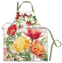 Michel Design Works Cotton Chef Apron, Morning Blossoms - $67.54