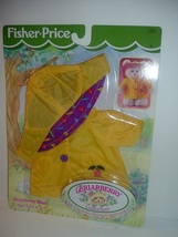 1998 Fisher Price Briarberry Raincoat with hat still sealed in original ... - $19.99