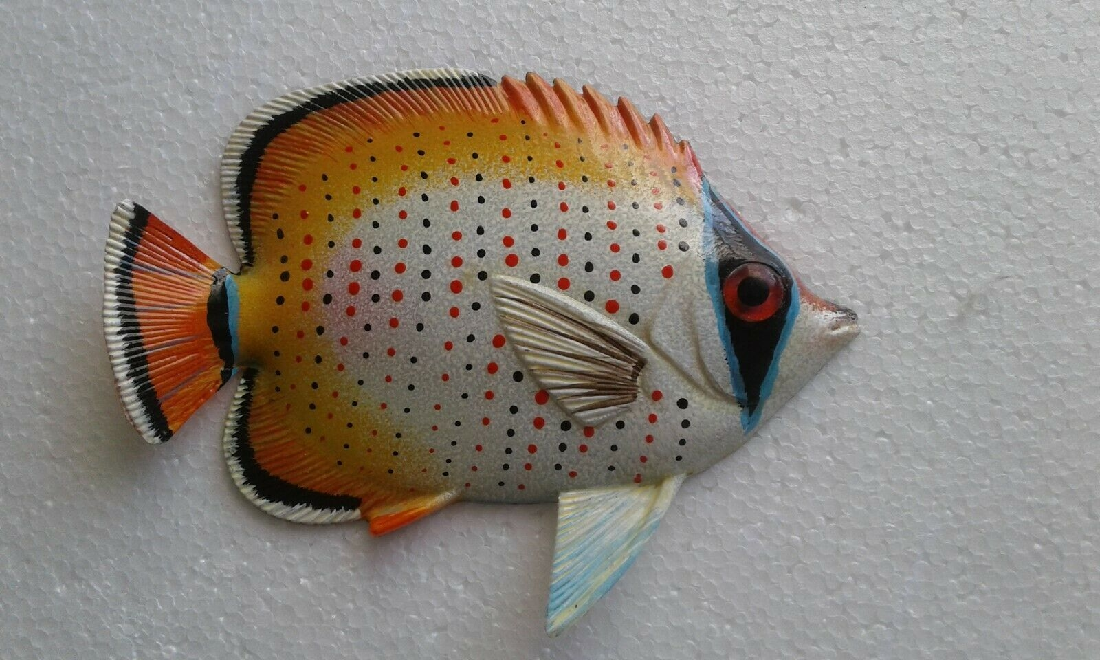 Primary image for Tropical Fish Wall Plaque Tiki Bar Beach Pool Nautical Decor Size 6 in TFW43