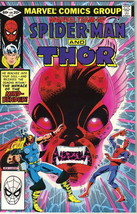 Marvel Team-Up Comic Book #115 Spider-Man and Thor, 1982 VERY FINE- - $2.75
