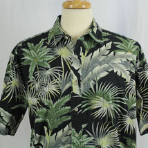 Cooke Street Honolulu Palm Tree Short Sleeve Hawaiian Cotton Men Shirt S... - $23.38