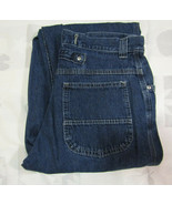 Lee Riveted Vintage 14 Med 33 X 33 Women Blue Jeans Overalls Made In USA... - $34.99