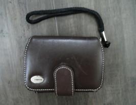 Olympus Premium Slim Camera Case Leather Compact Universal Cover Belt Cl... - $9.99
