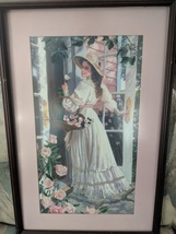 1996 Dimensions Crewel Romance for Roses 1483 Completed 3D Cross Stitch ... - $46.00