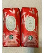 2 LB 2020 Starbucks CHRISTMAS Blend Dark Roast Whole Bean EXP 03/2021 X2 - $34.53