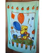 Winnie the Pooh Bike And Balloon Baby Blanket Throw plush - $25.74