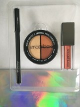 Smashbox Ablaze Eye & Lip Set Full Sz Eyeshadow Lipstick & Liner $64 New in Box - $16.99