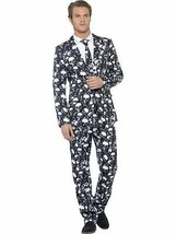 Skeleton Suit, XL, Halloween Fancy Dress, Mens #AU - $71.85