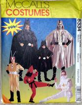McCall's Adult Costumes 8334 Batman Darthvader Super Heros Factory Folde... - $12.00