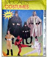 McCall's Adult Costumes 8334 Batman Darthvader Super Heros Factory Folde... - $12.00