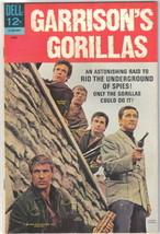 Garrison's Gorillas TV Series Comic Book #2, Dell Comics 1968 FINE+/VERY FINE- - $16.39