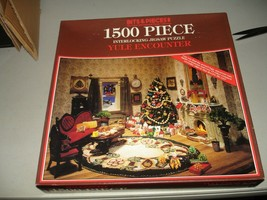 Vintage Bits & Pieces 1500 Puzzle Yule Encounter Look N Find - Brand New... - $16.82