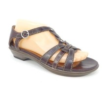 Dansko Sandals Brown Leather Open Toe Comfort Womens Size 39 US 9 - $32.48