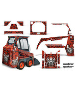 Kit Grafica Decalcomania Wrap per Bobcat Skidsteer Mini Carico Minipala ... - $395.94