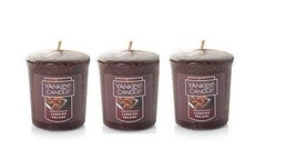 Yankee Candle Candied Pecan 3 Votives - $9.52
