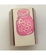 A Stamp in the Hand Stamp Canning Mason Jar Full of Fruit Marbles Circle... - $4.00