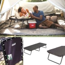"""Guest Folding Steel Bed With Foam Mattress 30"""" x 80"""" Camping Cot Deluxe ... - $85.91"""