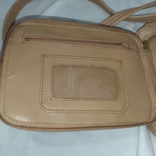 9c9c79476 TIGNANELLO Crossbody Leather Bag Convenient Zip Rear Pocket for Cards Money  ID