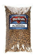 Gourmet Whole Almonds Roasted Unsalted by Its Delish, 2 lbs - $22.21