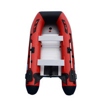 BRIS 10ft Inflatable Boat Inflatable Dinghy Yacht Tender Fishing Pontoon Boats image 4