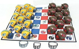 NFL BUCCANEERS / GREEN BAY PACKERS Checkers Board Game NFL Play Football - $18.69