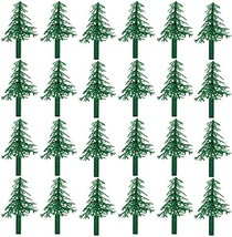 Evergreen Trees for Cake and Cupcake Decorating 24-Pack - $9.52