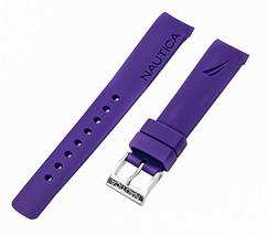 Nautica Unisex N11551M | A11551M BFD 101 Dive Original 18mm Purple Watch... - $32.66 CAD