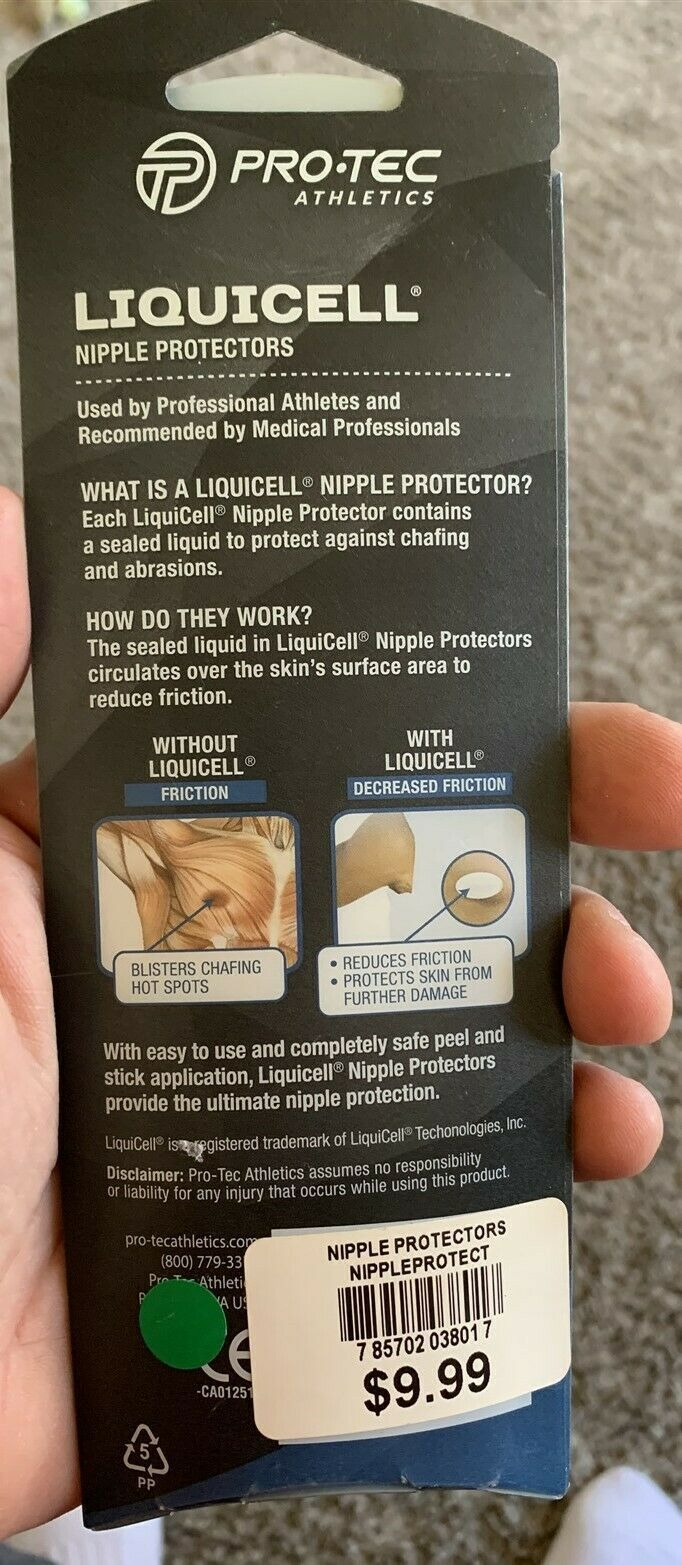 Liquicell Nipple Protectors For Runners image 4