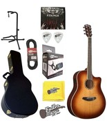 Breedlove Studio Dreadnought Sunburst Solid Top A/E Guitar w/Hard Case &... - $994.25