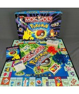 Monopoly Pokemon Collector's Edition Vintage 1999 Hasbro Pewter Version ... - $58.00