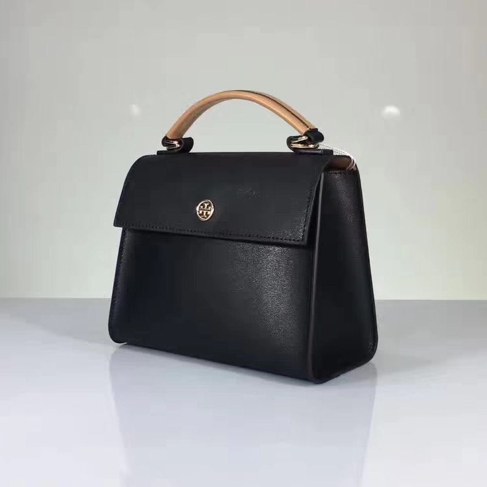 NWT Tory Burch Parker Color Block Small Satchel image 2