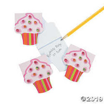 Cool Fun 651199 Paper Cupcake Notepads with Gems - $10.61