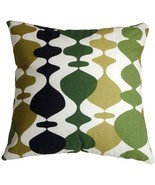 Pillow Decor - Lava Lamp Green 20x20 Throw Pillow - £31.02 GBP