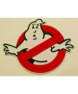 """Ghostbusters~Movie Logo~Embroidered Applique Patch-~3 7/8"""" x 3 1/8""""~Iron... - $3.95"""