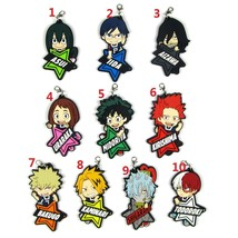 New Anime My Hero Academia Boku no Hero Akademia Keychain Rubber Strap Bakugo - $3.85+