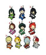 New Anime My Hero Academia Boku no Hero Akademia Keychain Rubber Strap Bakugo - $3.85 - $4.94