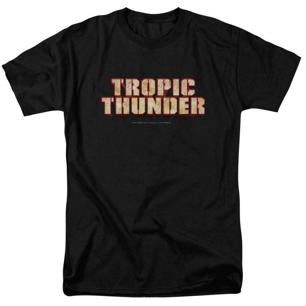 Tropic Thunder t-shirt 2008 action comedy film Ben Stiller graphic tee PAR218