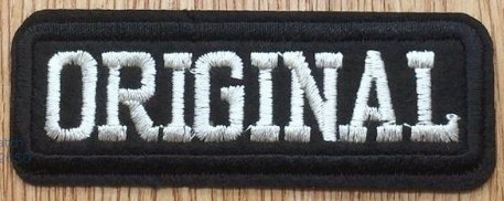 Original Funny Patch Size 3 x 1 inches. Shipped from USA