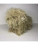 """GUND Moppsie Furry Puppy Dog Brown  #1389 Stuffed animal Plush Vintage 14""""  - $72.38"""